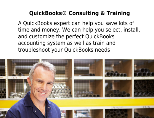 Read more about QuickBooks® Consulting